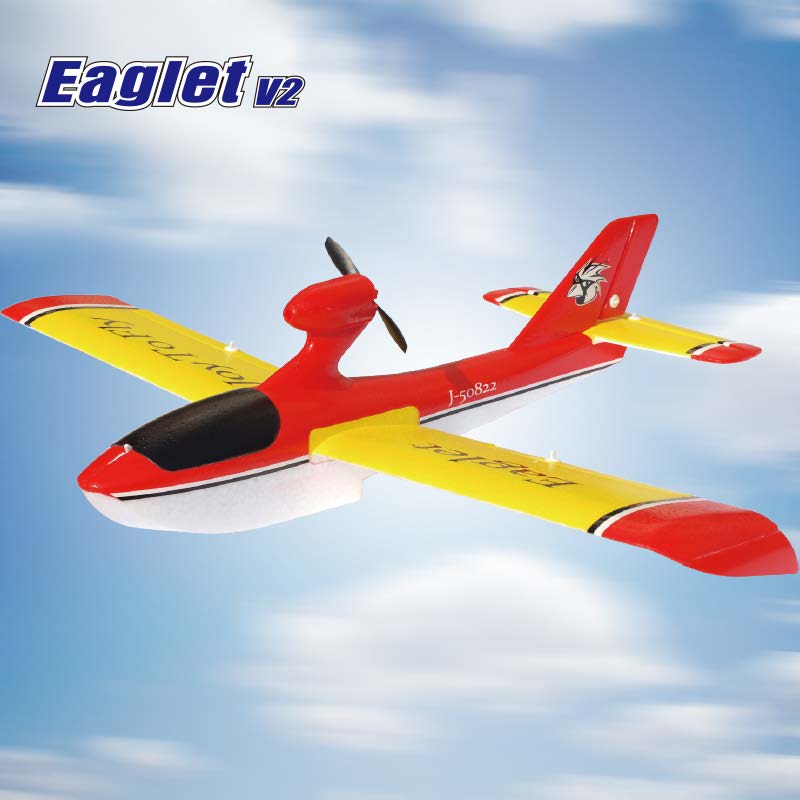 RTF Radio Controlled Seaplane Aircraft Kit for Sale Eaglet 6301