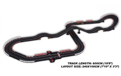 Special 504 1/43 Electric Power Slot Car Racing Set